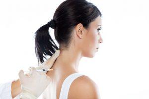 Behandling av forkalkning i skulder med kortisoninjeksjon